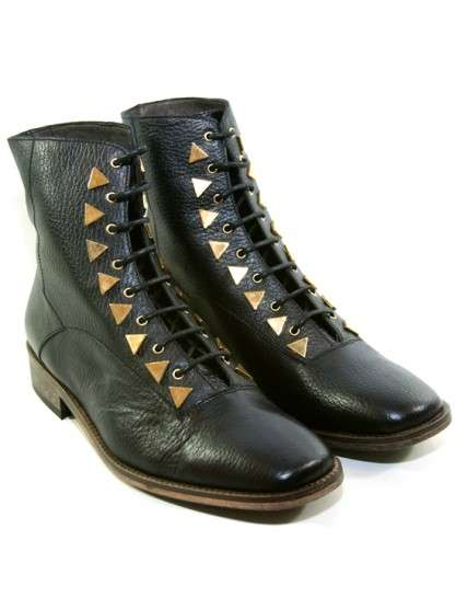 Militarized Ankle Boots