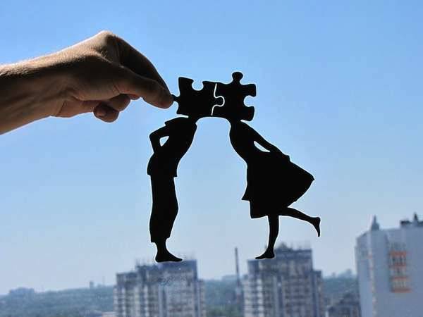 Surreal Silhouette Papercrafts