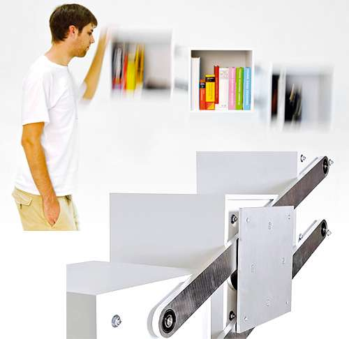 Shape-Shifting Shelves