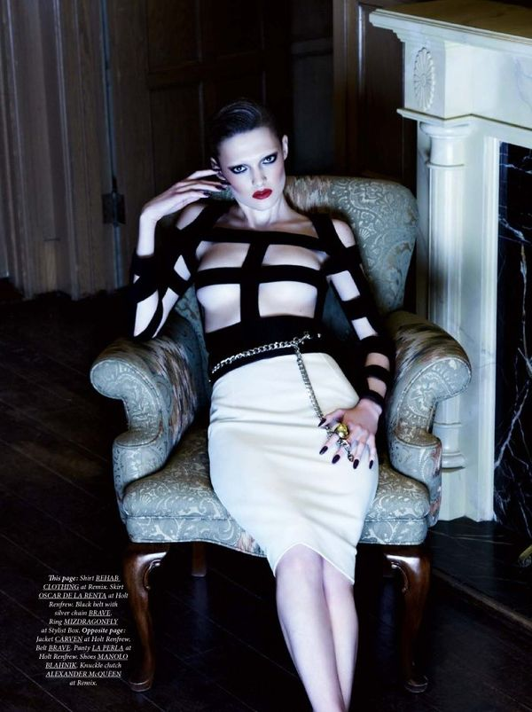 Opulent Goth Dress Editorials