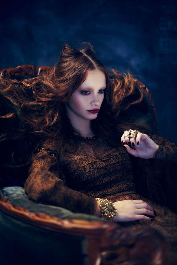 Glamorously Goth Portraits
