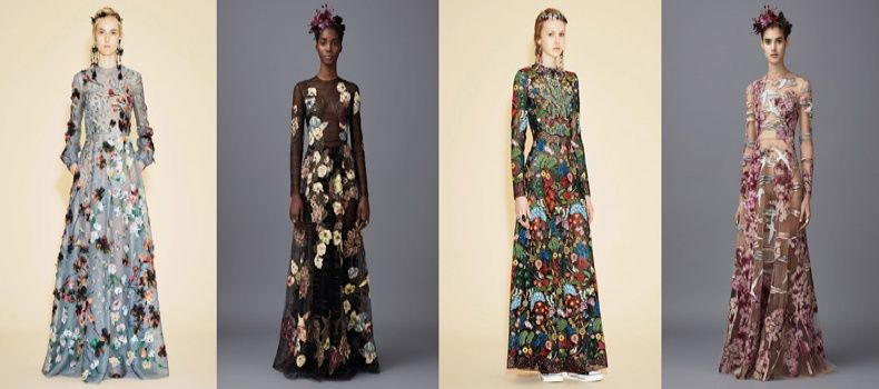 Eco Embroidered Gowns