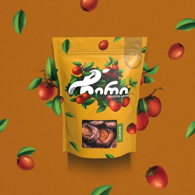 Botanical Dried Fruit Branding