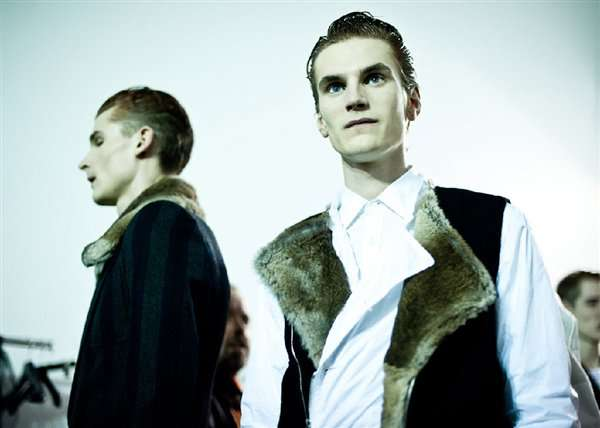 Fur-Lined Formalwear