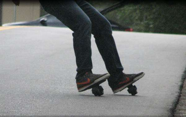 Snowboard-Inspired Skates