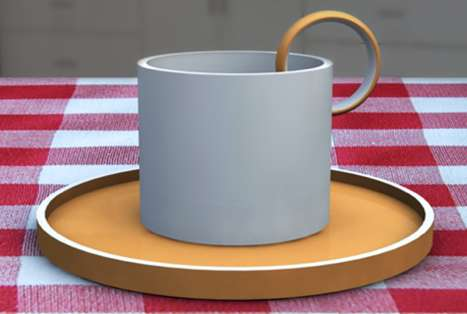 Lemon-Trimmed Teacup Handles