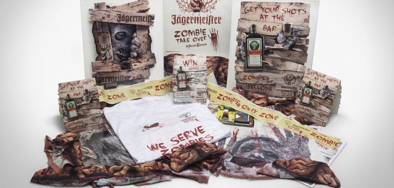 Zombified Alcohol Kits