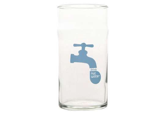 Drink NYC Tap Water Glassware