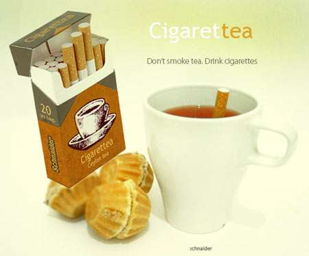 Drinkable Cigarettes