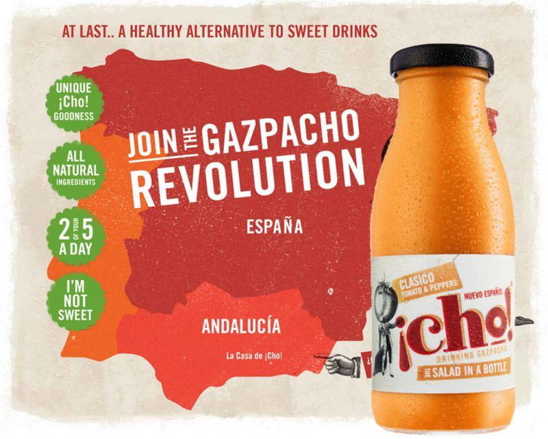 Nutritious Gazpacho Drinks