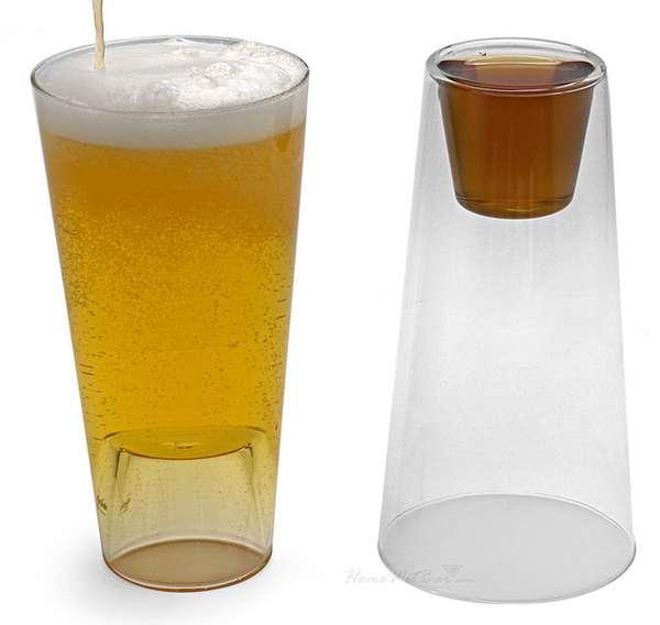 Dual-Purpose Drinking Glasses