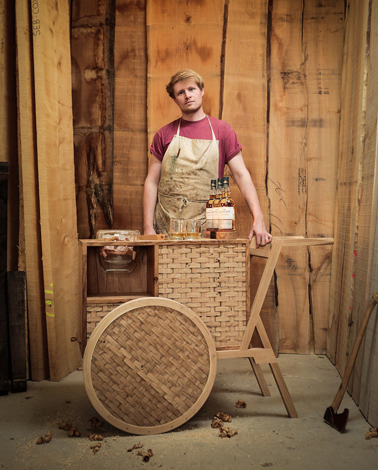 Woven Whiskey Trolleys