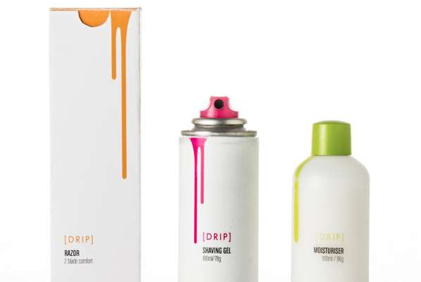 Spray Paint Salon Packaging