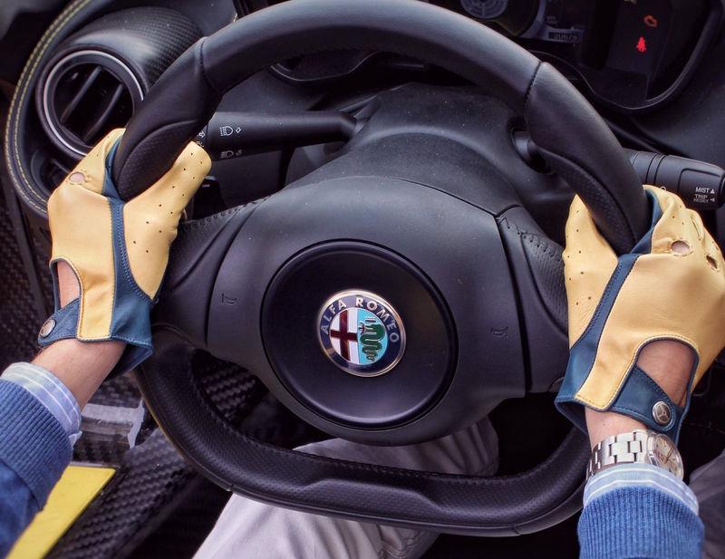 Handmade Italian Driving Gloves