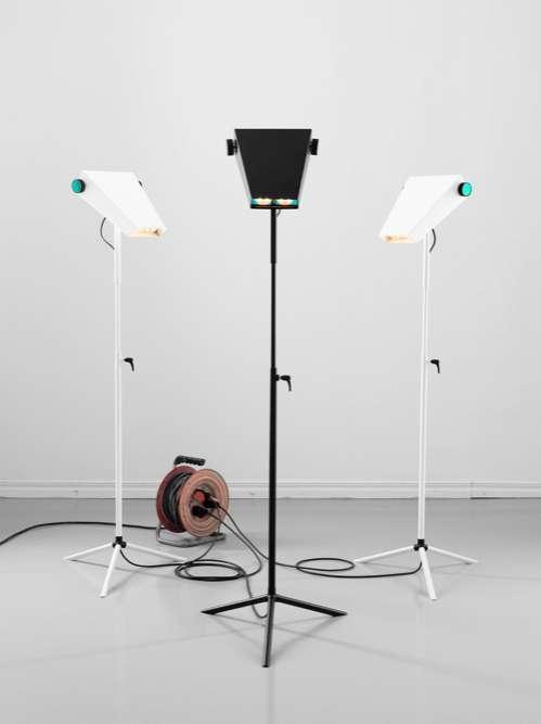 Retro Robot Lighting