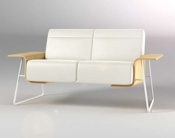Minimalist Winged Seating