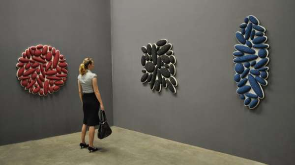 Pebble-Like Wall-Mounted Artworks