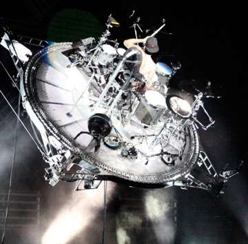 Flying Drum Solos