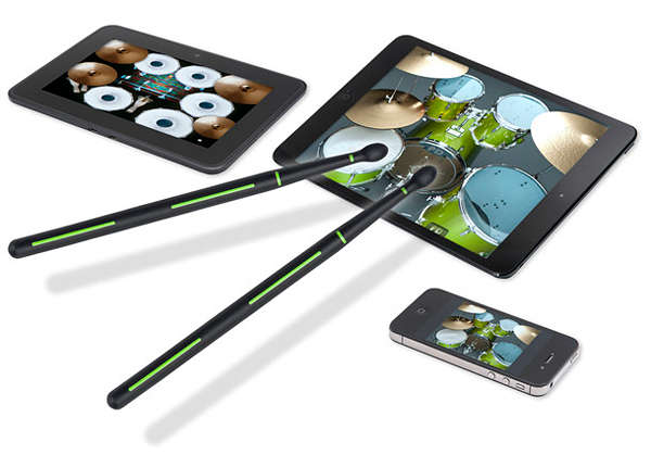 Digital Drum Sticks