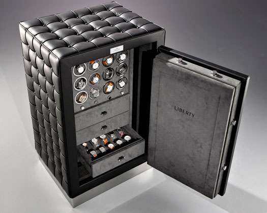 Sleek Quilted Safes