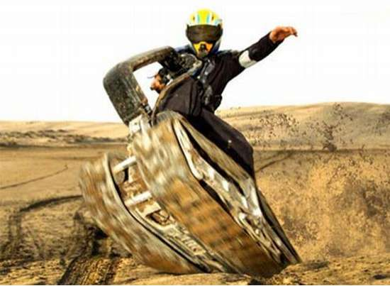 Motorized Tank Track Skateboards