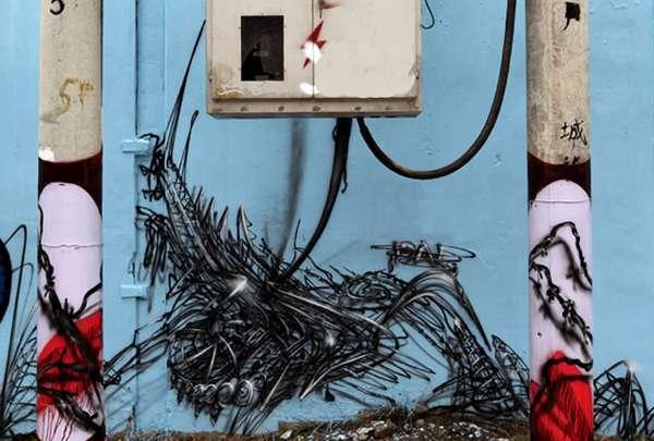 Wiry Street Art
