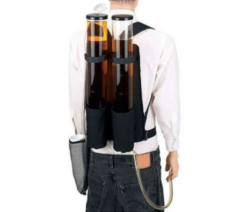 Double Barreled Booze Bags