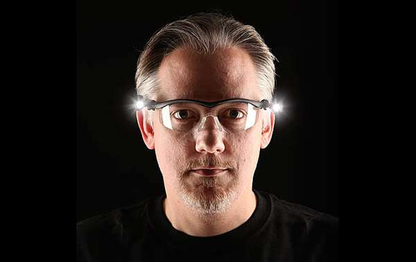 Dual LED Safety Glasses