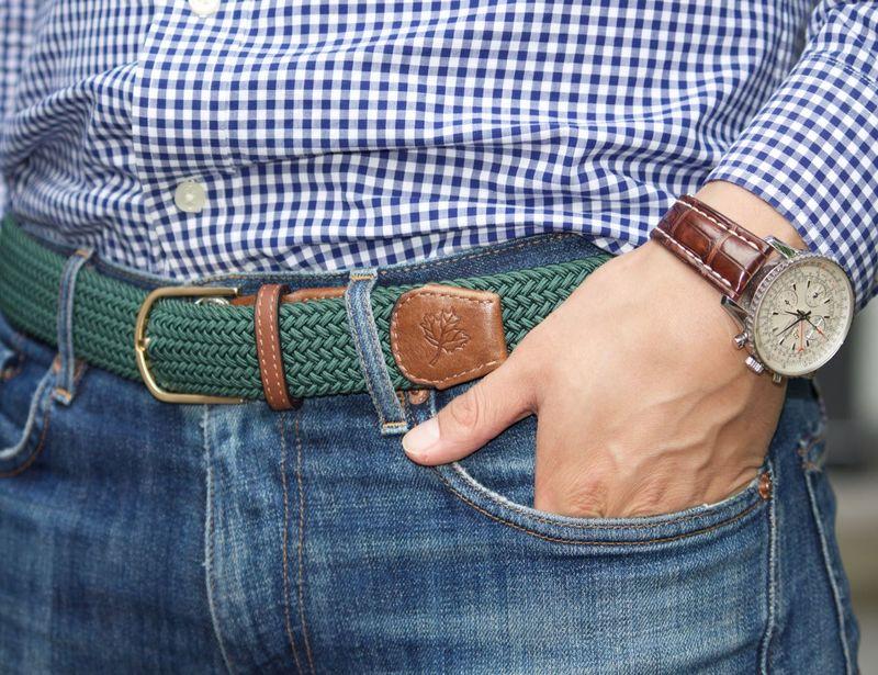 Customized Dual-Fibre Belts