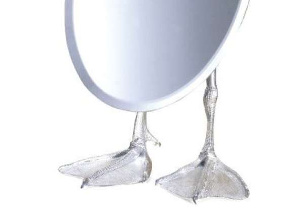 Duck-Footed Mirror