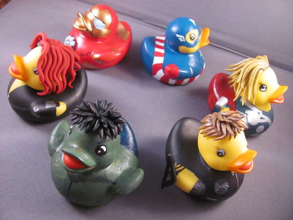 Rubber Ducky Superheroes