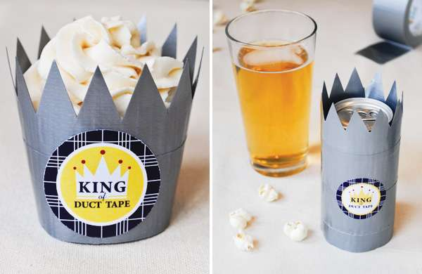duct tape treat crowns