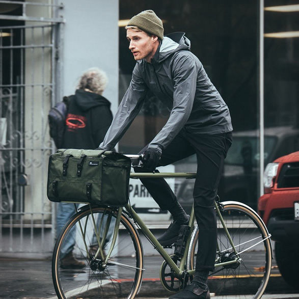Roll-Top Cyclist Duffle Bags