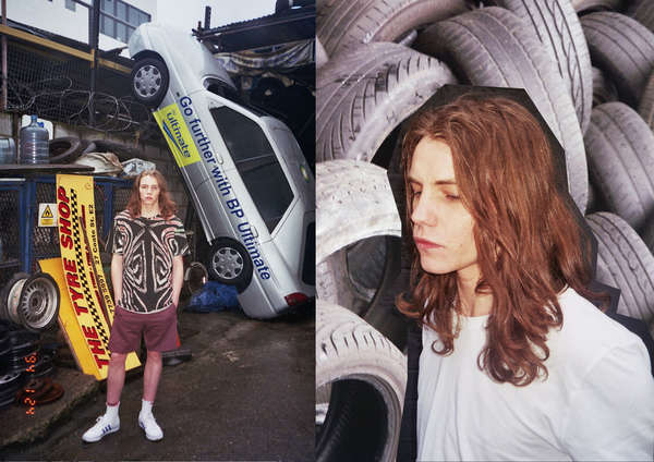 Collaged Junk Yard Captures