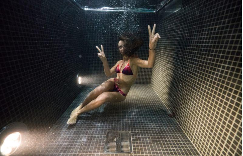 Dunking Underwater Photography