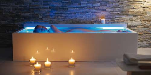 Glowing Musical Baths