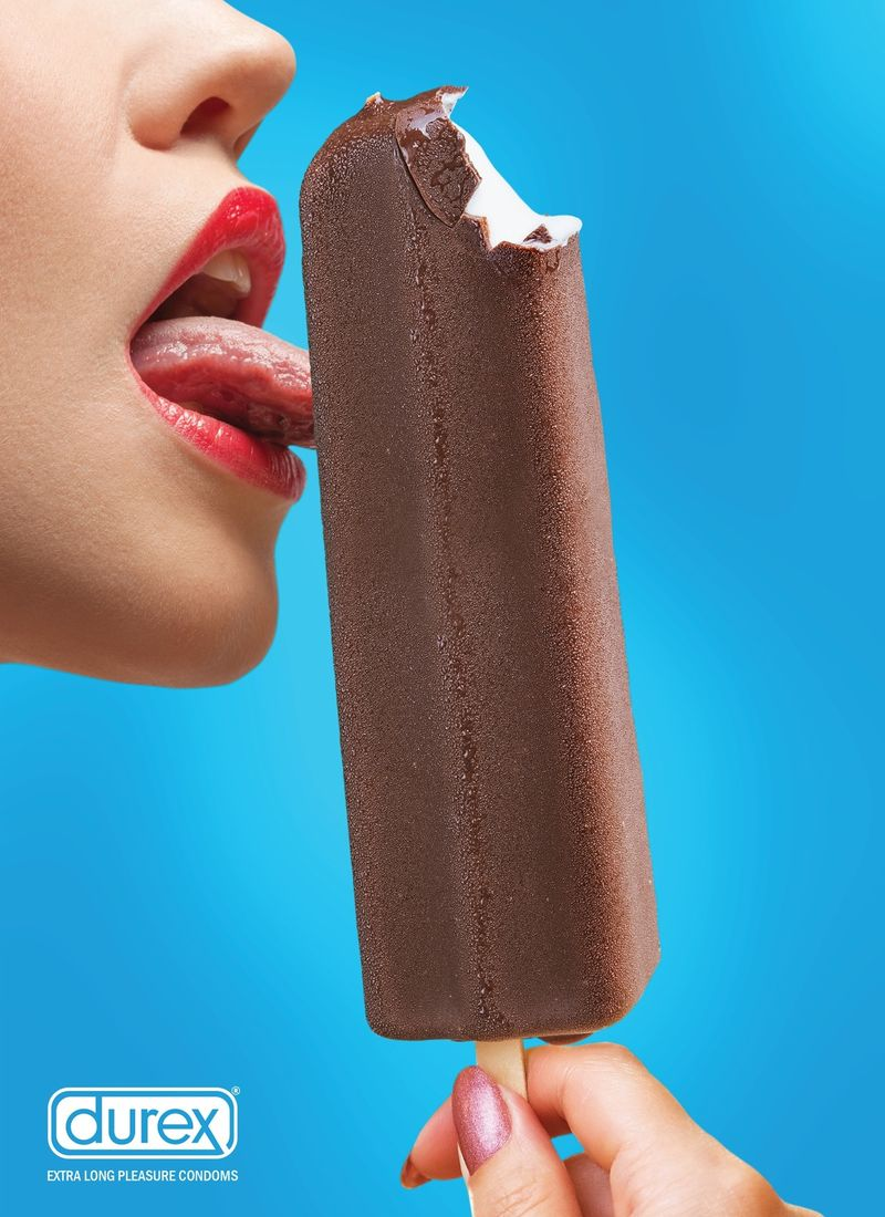 Blushing Food Adverts