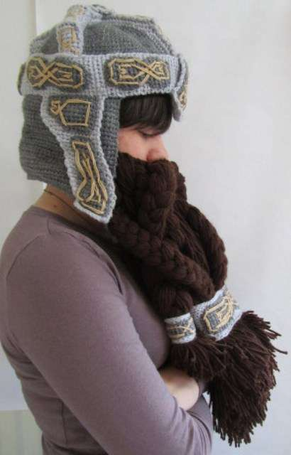 Middle Earth Face Warmers