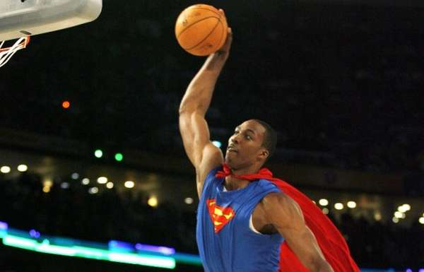 Dwight Howard Superman apparel