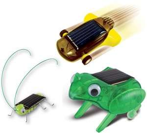 DIY Solar-Powered Robots
