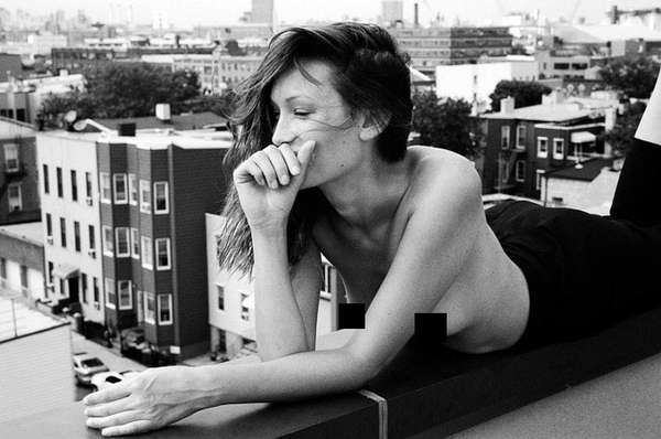 Topless Rooftop Photography