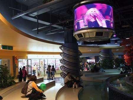 Circular Television Sets