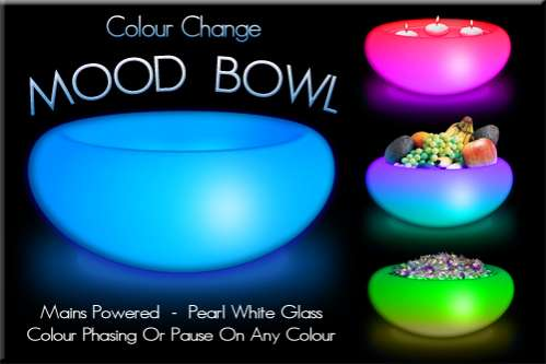 Colorful Light Shows on Every Day Items