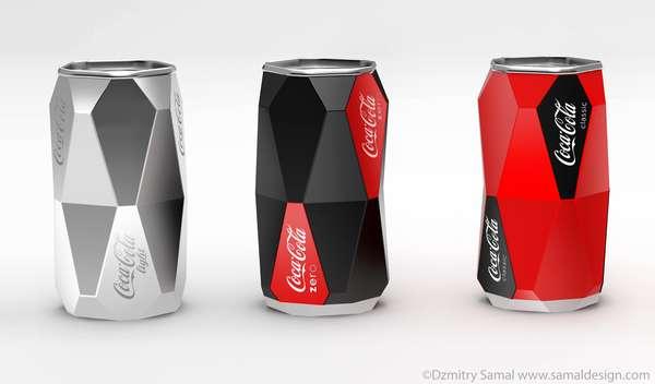 Pentagonal Pop Cans