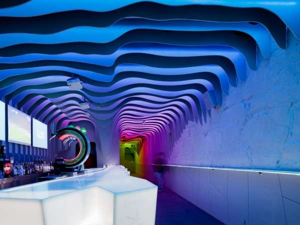 Colorful Cave-Inspired Clubs