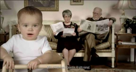 E-Trade Baby 2011 Superbowl Compilation