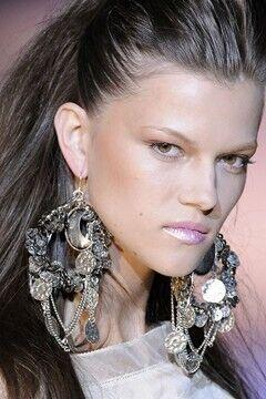 Giant Chandelier Earrings