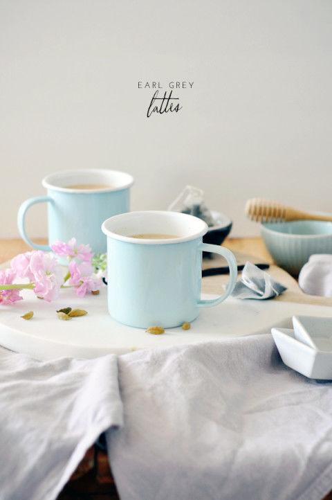 Spiced Tea Lattes