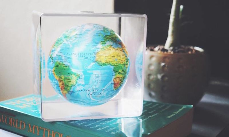 Floating Earth Ornaments
