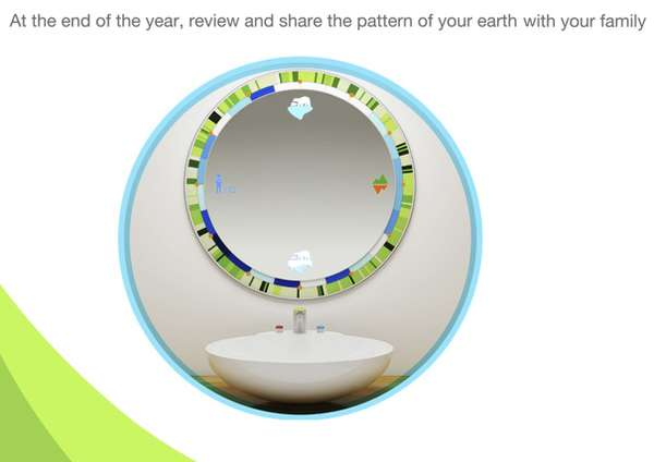 Informative Eco Mirrors